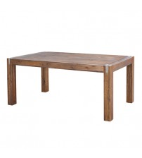 Brushed Walnut Colour Dining Table