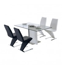Z Dining Table with 4X Chairs