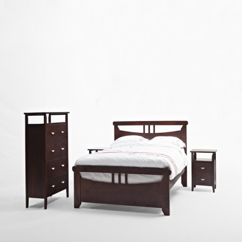 Nadia Wooden Double Bed Head