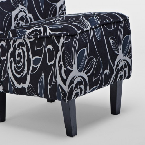 A11-B A2033-16 FABRIC ARMCHAIR
