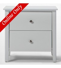 Welton White Night Stand