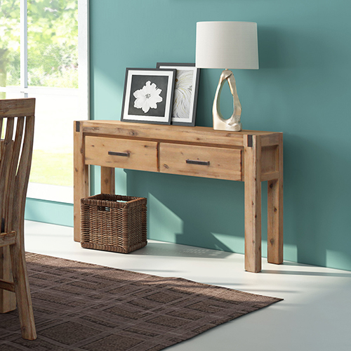 Nowra 2 Drawers Hall Table in Multiple Colour