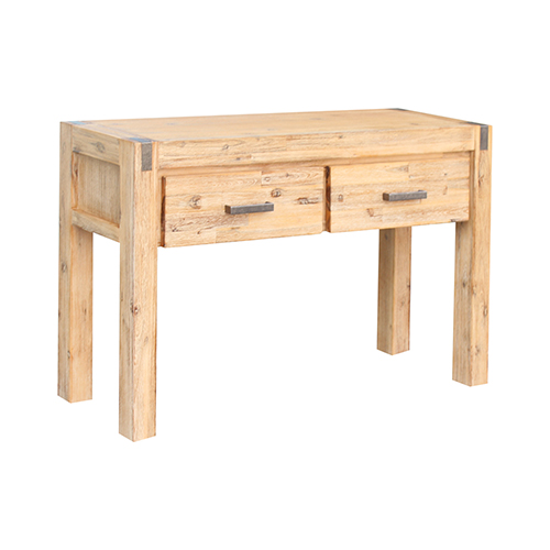 Nowra 2 Drawers Hall Table Oak Colour