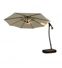 Stylish White Hanging Umbrella