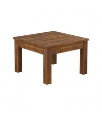 Arron Java Rustic Lamp Table