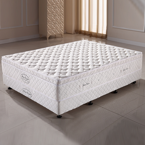 Luxury Pocket Spring Double Mattress with Natural Latex
