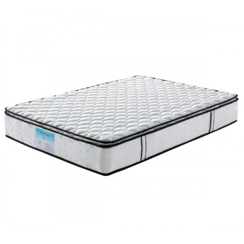 Wooden Slatted BASE with Memory Pillowtop Mattress