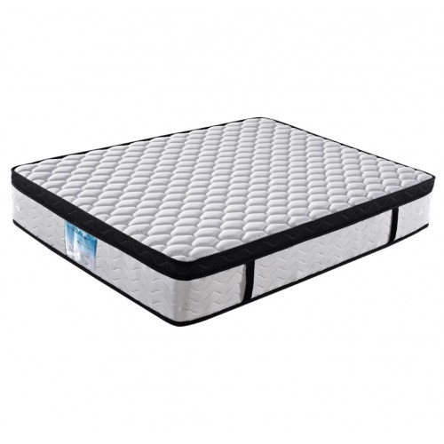 Eurotop Pocket Spring Queen Mattress with Natural Latex