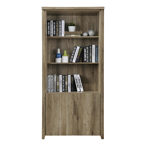 Alice Oak Colour Open Book Case