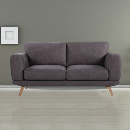 Modern Stylish Brown Alaska Sofa 2 Seater