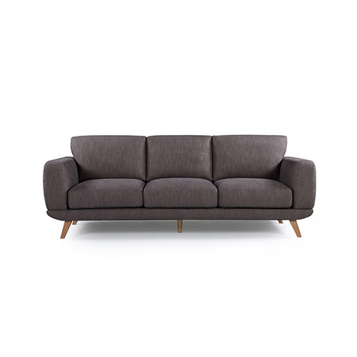 Modern Stylish Brown Alaska Sofa 3 Seater
