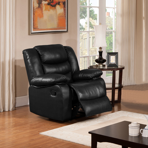 Dream Recliner Sofa Lounge Chair Bonded Leather Couch 1R