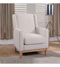 Emily Arm Chair Beige Colour