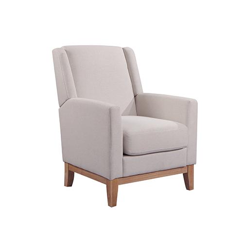 Emily Arm Chair Beige Colour