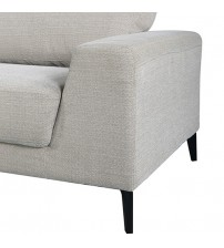 Hopper 2 Seater Sofa Light Grey Colour