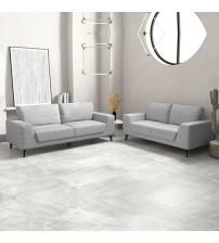 Hopper 3+2 Seater Sofa Light Grey Colour