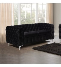 Jacques Black Colour 2S Sofa