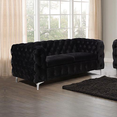 Jacques Black Colour 2S Sofa