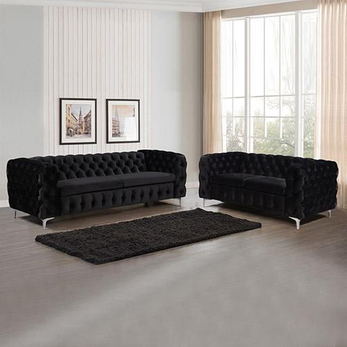 Jacques Black Colour 3S+2S Sofa