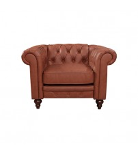 Madeline 1S Brown Colour Sofa