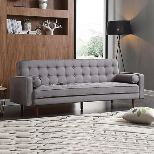 Modern Standard Fabric Marcella 3 Seater Sofa Bed