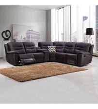 Taylor Dark Grey Corner Recliner Sofa
