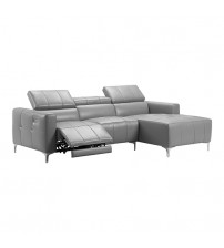 Boston Grey Sofa with Electric Recliner