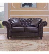 2 Seater Brown Francis Sofa