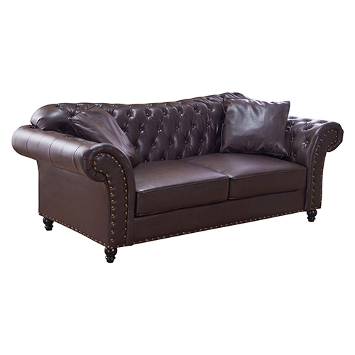 3 Seater Brown Francis Sofa