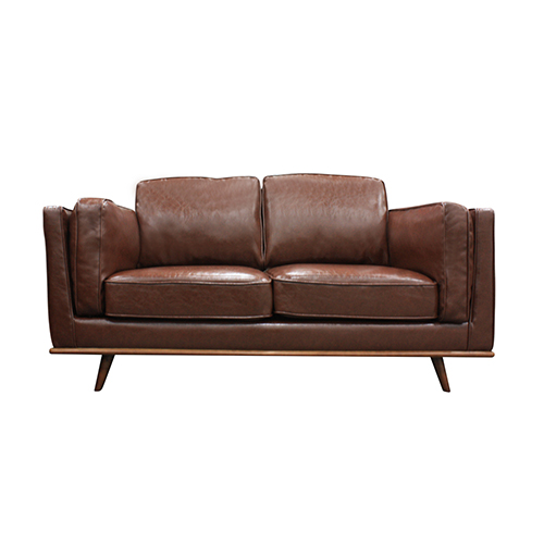 2 Seater Leatherette/Fabric Multiple Colour Sofa York