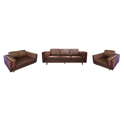 3+2+1 Seater Leatherette/Fabric Multiple Colour Sofa York