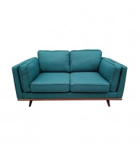 Stylish Leatherette Teal York 3+2 Seater Sofa