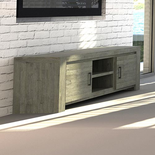 Acacia Turkish Green TV Cabinet
