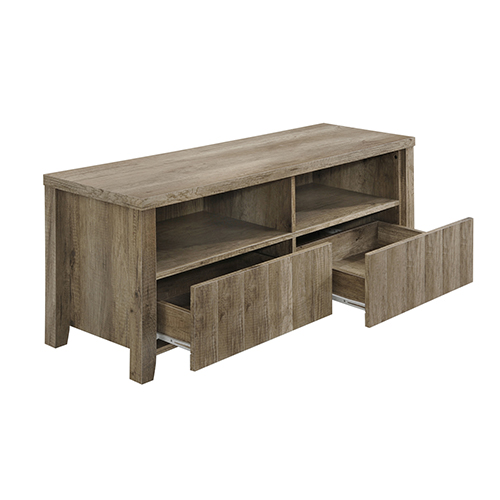 TV Cabinet 2 Drawers Wooden Leg Alice