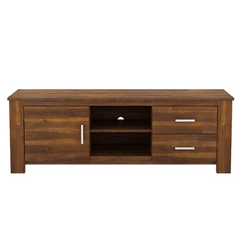 Arron Java Rustic TV Cabinet