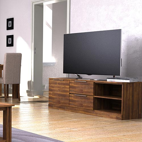 Austin Almond Colour TV Cabinet