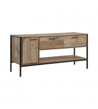 Mascot TV Cabinet Oak Colour