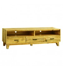 Woodstyle Light Brown Colour TV Cabinet