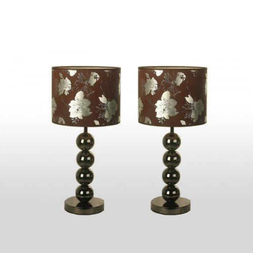2X Brand New Modern & Stylish Bedside Table Lamps