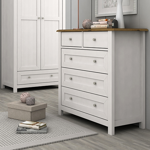 Abelina Mellow White Tallboy