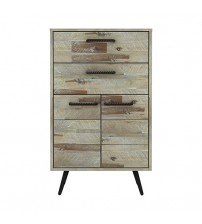 Altona Acacia Wood 4 Drawers Tallboy