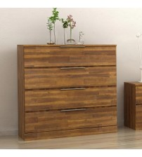 Austin Almond Colour 4 Drawers Tallboy