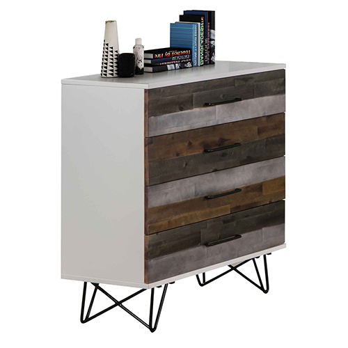 Shelby MDF 4 Drawers Tallboy