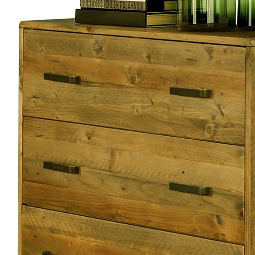 Buy Woodstyle Light Brown 4 Drawers Tallboy Online In