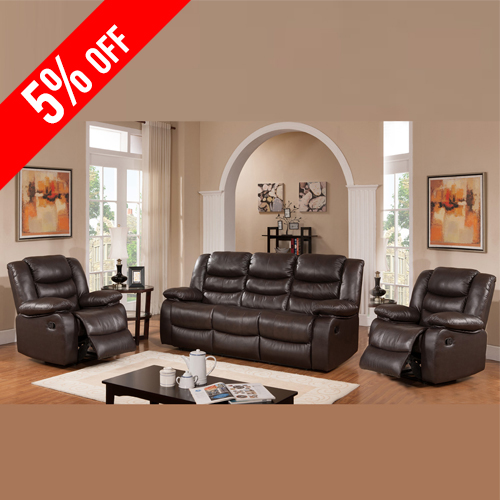 Sale Dream Recliner Sofa Lounge Suite Leather Couch 3+1+1 · Dream ... & Living Room Recliners - Designer and Contemporary Recliners islam-shia.org